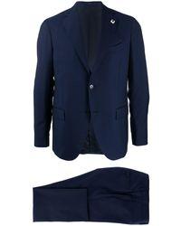 Lardini ツーピーススーツ - ブルー