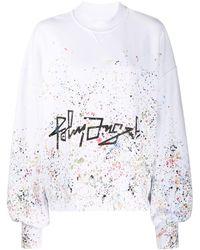 Palm Angels Painter スウェットシャツ - ホワイト