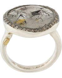 Rosa Maria - Quartz And Diamond Ring - Lyst