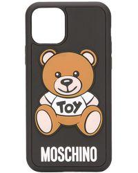Moschino Teddy Bear Iphone 11 Pro Case - Black