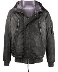 Boris Bidjan Saberi 11 Washed Padded Jacket - Grey