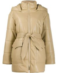 Nanushka - Lenox Quilt Detail Puffer Jacket - Lyst