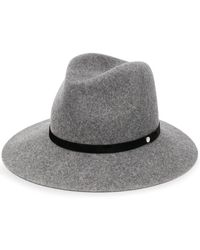 Rag & Bone Fedora con design color-block - Grigio