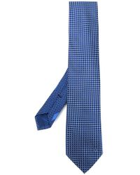 Ferragamo - Small-check Tie - Lyst