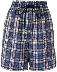 Burberry - Plaid Shorts - Lyst