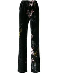 Markus Lupfer - Floral Print Trousers - Lyst
