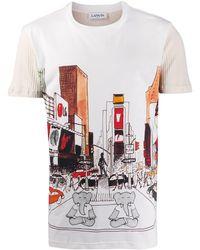 Lanvin Babar New York Tシャツ - マルチカラー