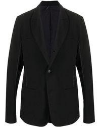 Masnada シングルジャケット - ブラック