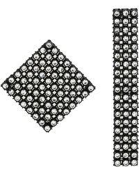 Christopher Kane - Diamond Mix Earrings - Lyst