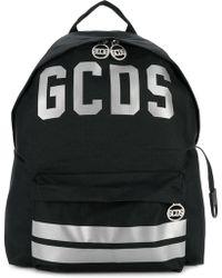 Gcds ロゴプリント バックパック - ブラック