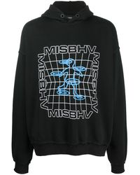 MISBHV グラフィック パーカー - ブラック