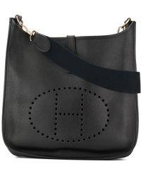 Hermès 1998 Pre-owned Evelyne Shoulder Bag - Black