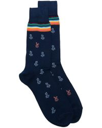 Paul Smith - Bunny-print Socks - Lyst