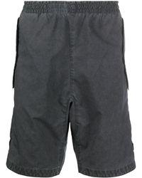 Stone Island Cargo Shorts - Grijs
