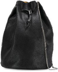 Stella McCartney ファラベラ バケットバッグ - ブラック