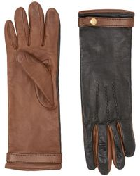 Burberry Two-tone Gloves - Black
