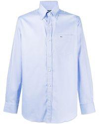 Paul & Shark Рубашка С Длинными Рукавами И Накладным Карманом - Синий