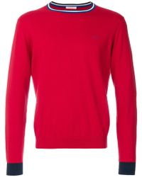 Sun 68 - Embroidered Detail Jumper - Lyst
