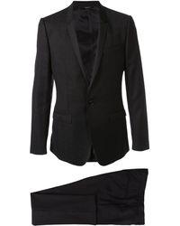Dolce & Gabbana Completo con logo jacquard - Nero