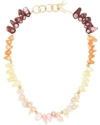 Joanna Laura Constantine Gold-plated Pearl Necklace - Metallic