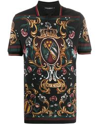 Dolce & Gabbana - Dg King ポロシャツ - Lyst