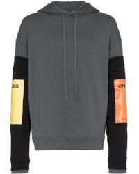 Raf Simons Hoodie With Detachable Sleeves