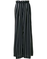 Kendall + Kylie - Stripped Palazzo Pants - Lyst