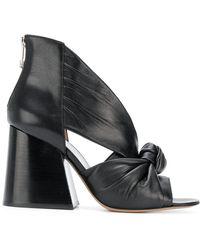 Maison Margiela - Open Toe Heels In Black - Lyst