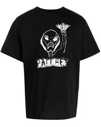Rassvet (PACCBET) ロゴ プリント Tシャツ - ブラック