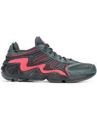 adidas Sneakers Met Mesh Panelen - Grijs