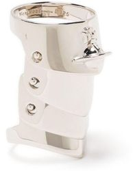 Vivienne Westwood - Anillo Armour Orb - Lyst