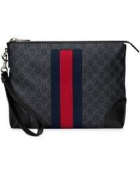 Gucci GG スプリーム メンズバッグ - ブラック