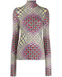 NO KA 'OI Illusion Knitted Top - Gray