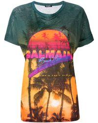 Balmain Beach Club Tシャツ - マルチカラー