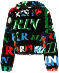Kirin モノグラム ジャケット - ブラック