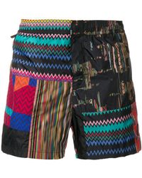 Missoni - Print Mix Swim Shorts - Lyst