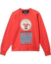 Marc Jacobs Felpa x Peanuts The Sweatshirt - Rosso