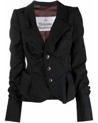 Vivienne Westwood ウールジャケット - ブラック
