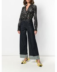 Boutique Moschino Straight Leg Jeans - Blue