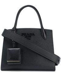 Prada - All Designer Products - Small Paradigm Tote Bag - Lyst
