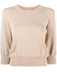 P.A.R.O.S.H. Round Neck Long-sleeved Sweatshirt - Multicolour
