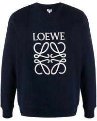 Loewe - Sweater Met Borduurwerk - Lyst