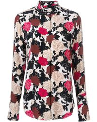 Equipment Daphne Floral Printed Shirt - Multicolor