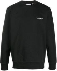 Carhartt WIP ロゴ セーター - ブラック