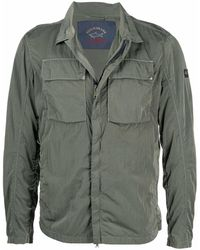 Paul & Shark - Куртка-рубашка С Нашивкой-логотипом - Lyst