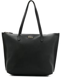 Furla Large Tote Bag - Zwart