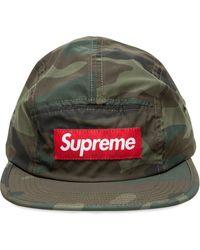 Supreme Gorra con motivo militar reflectante - Verde