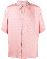 Laneus - Star Print Shirt - Lyst