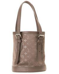 Louis Vuitton - Сумка-ведро 2001-го Года С Монограммой - Lyst