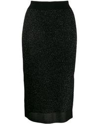 Rag & Bone - High Waisted Pencil Skirt - Lyst